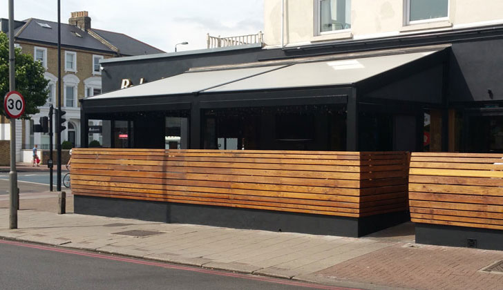 Bodeans Fremantle awning