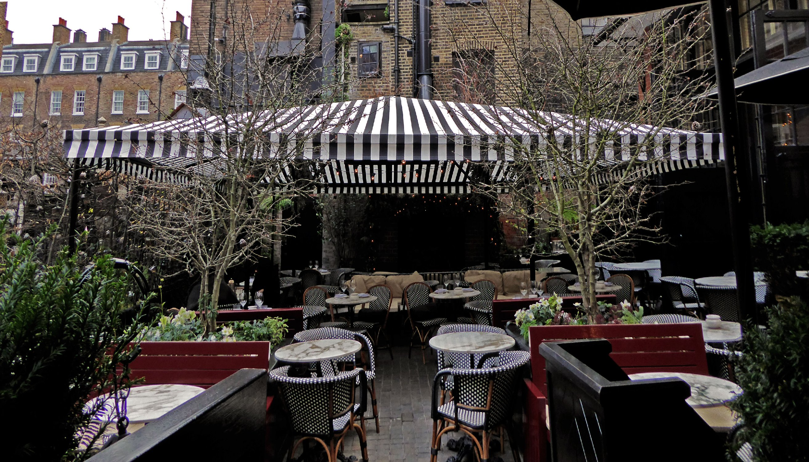 Chiltern Firehouse canopy