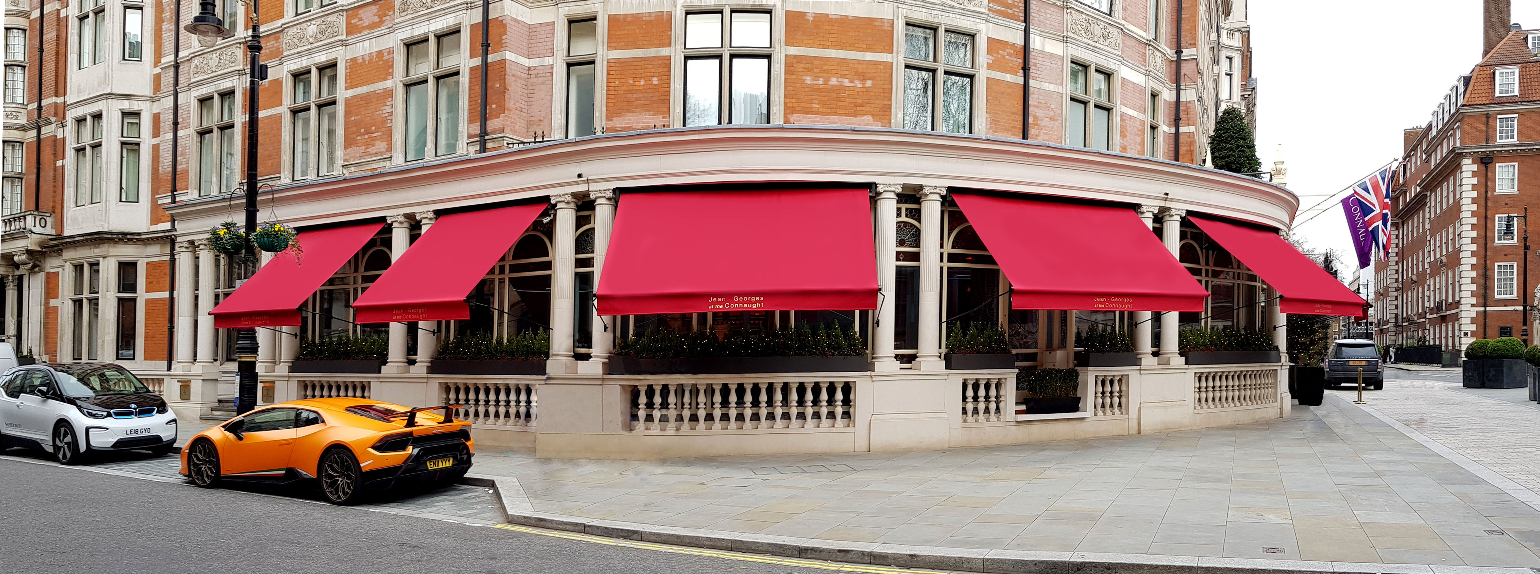 Awnings Connaught hotel