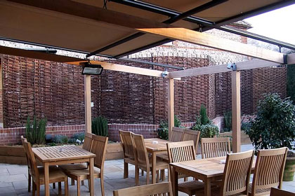 Morco terrace awning