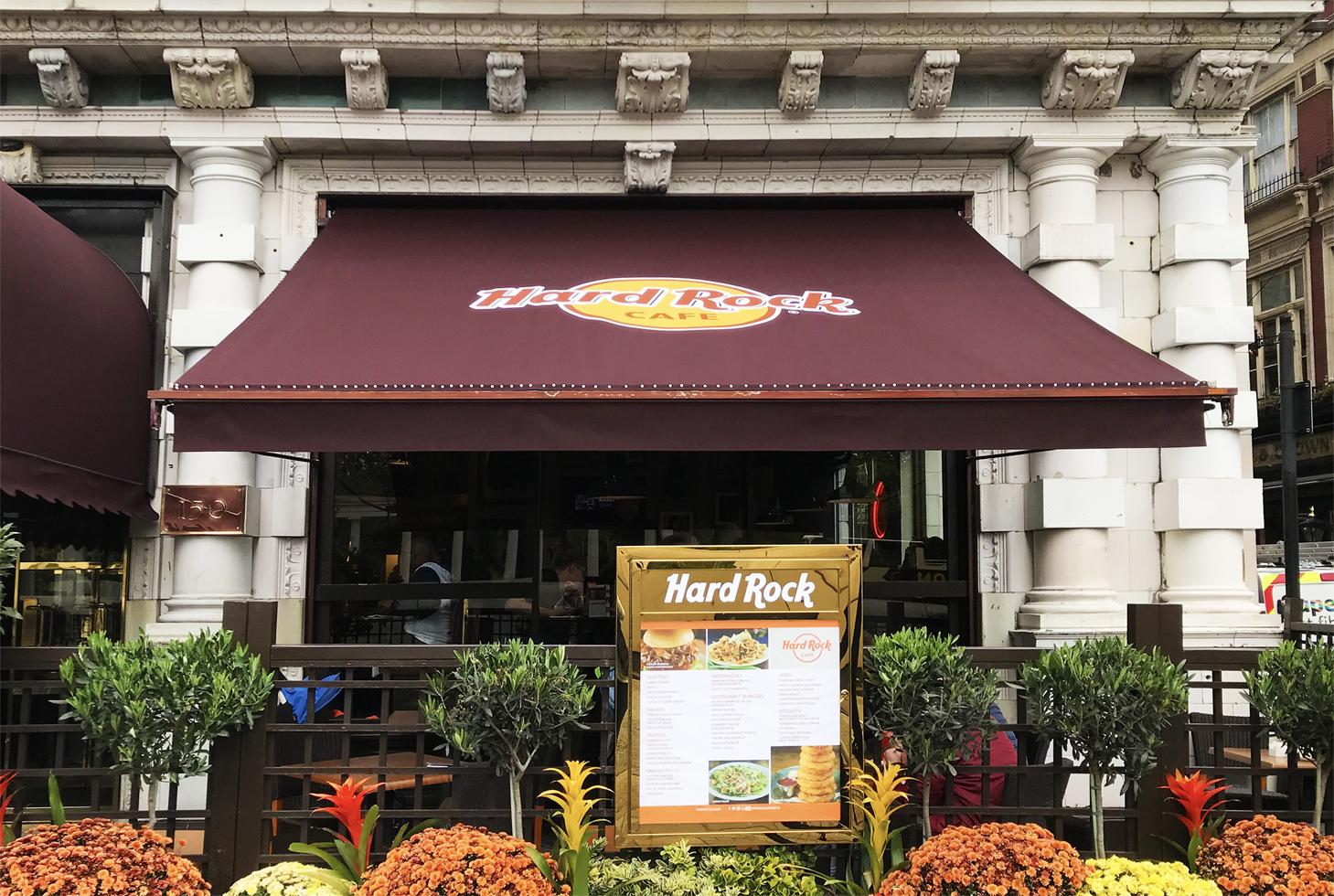 Awnings Hard Rock Cafe 2