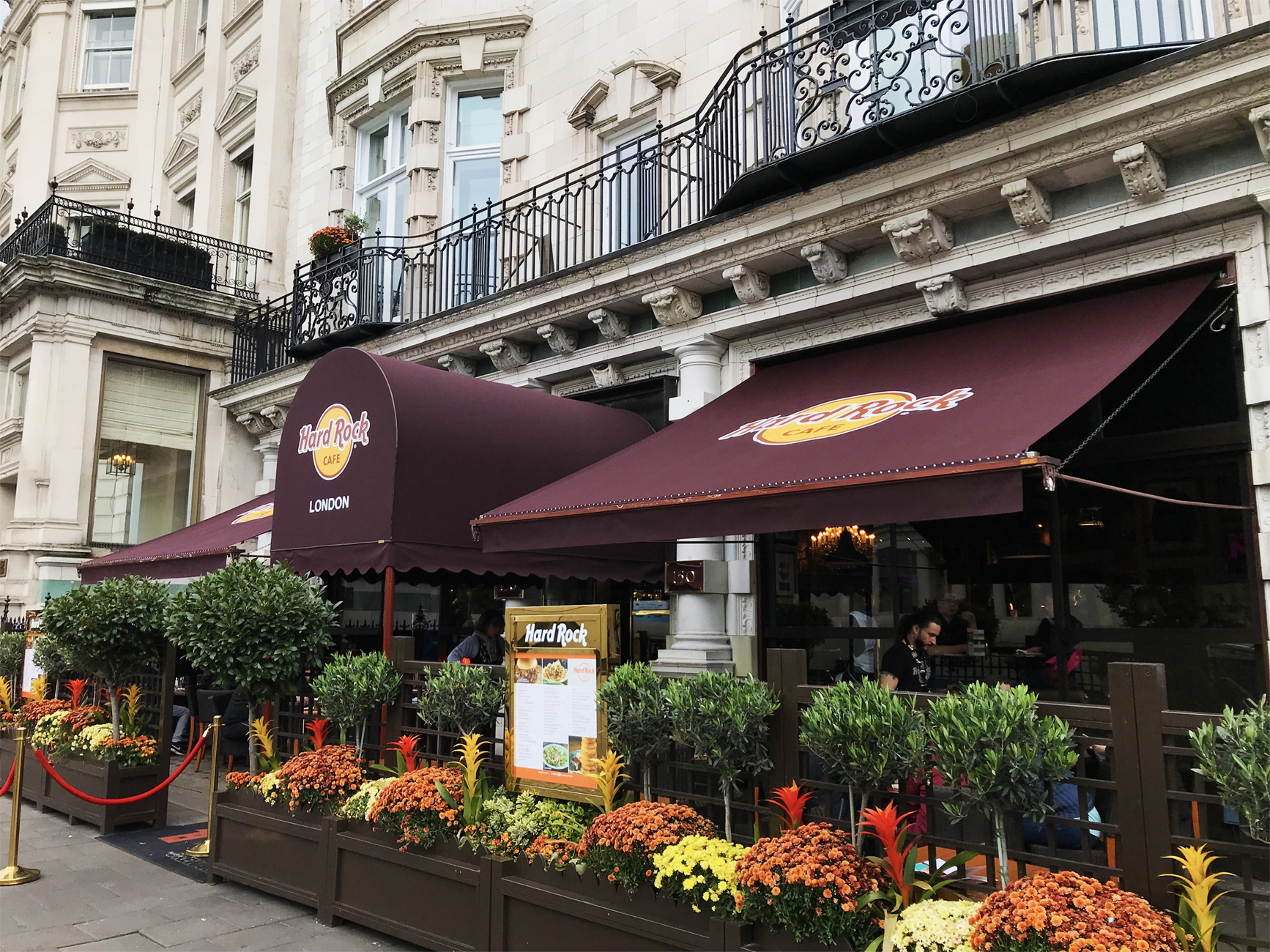 Awnings Hard Rock Cafe