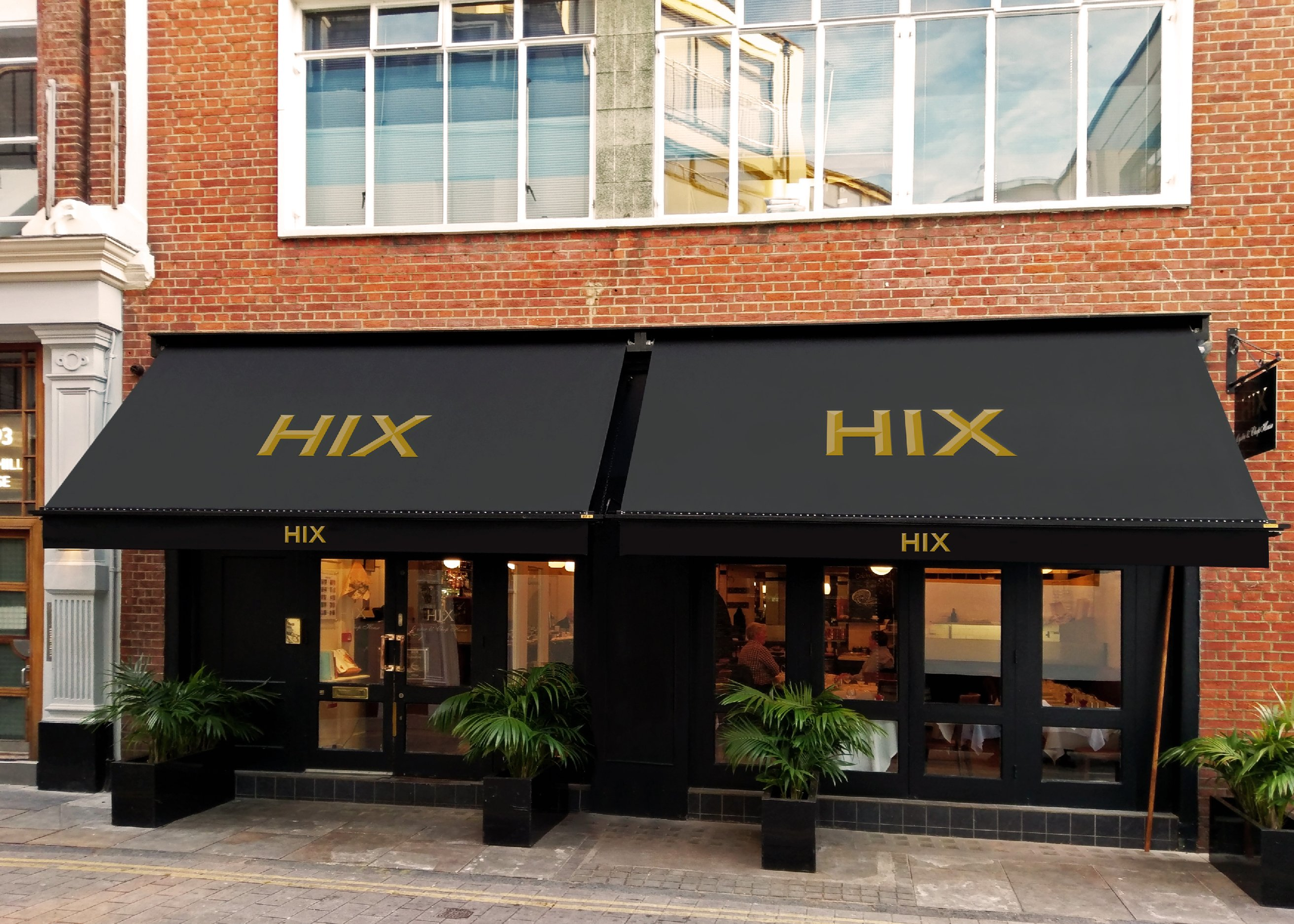 HIX Victorian awning