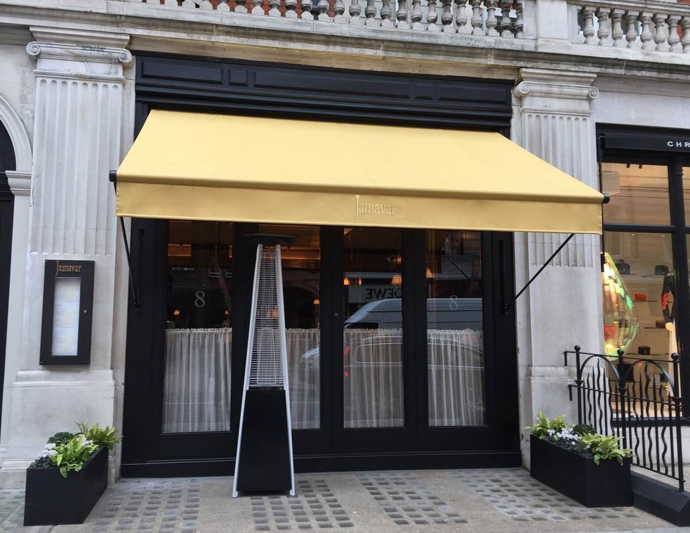 new awning for Jamavar