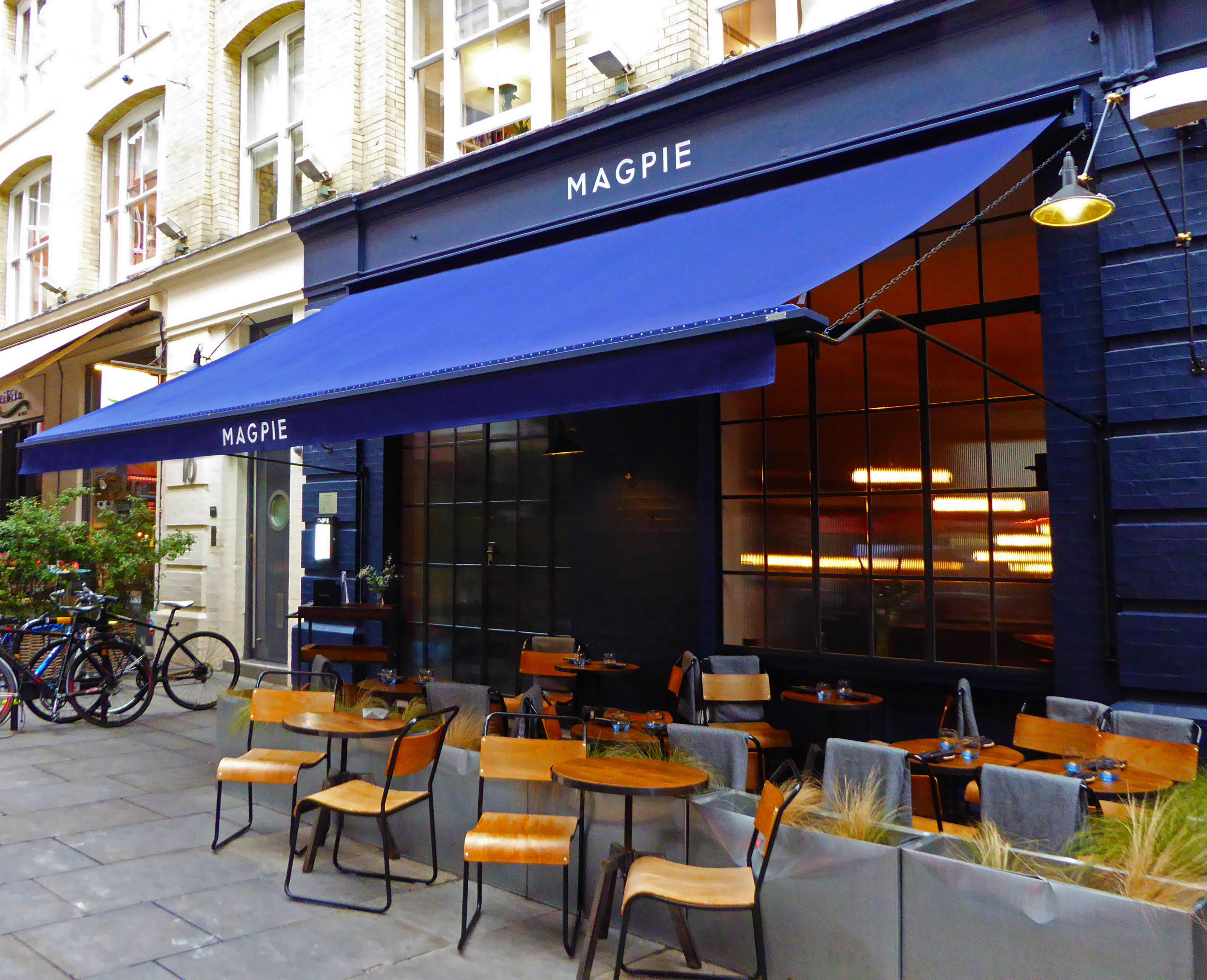 Magpie Victorian awning