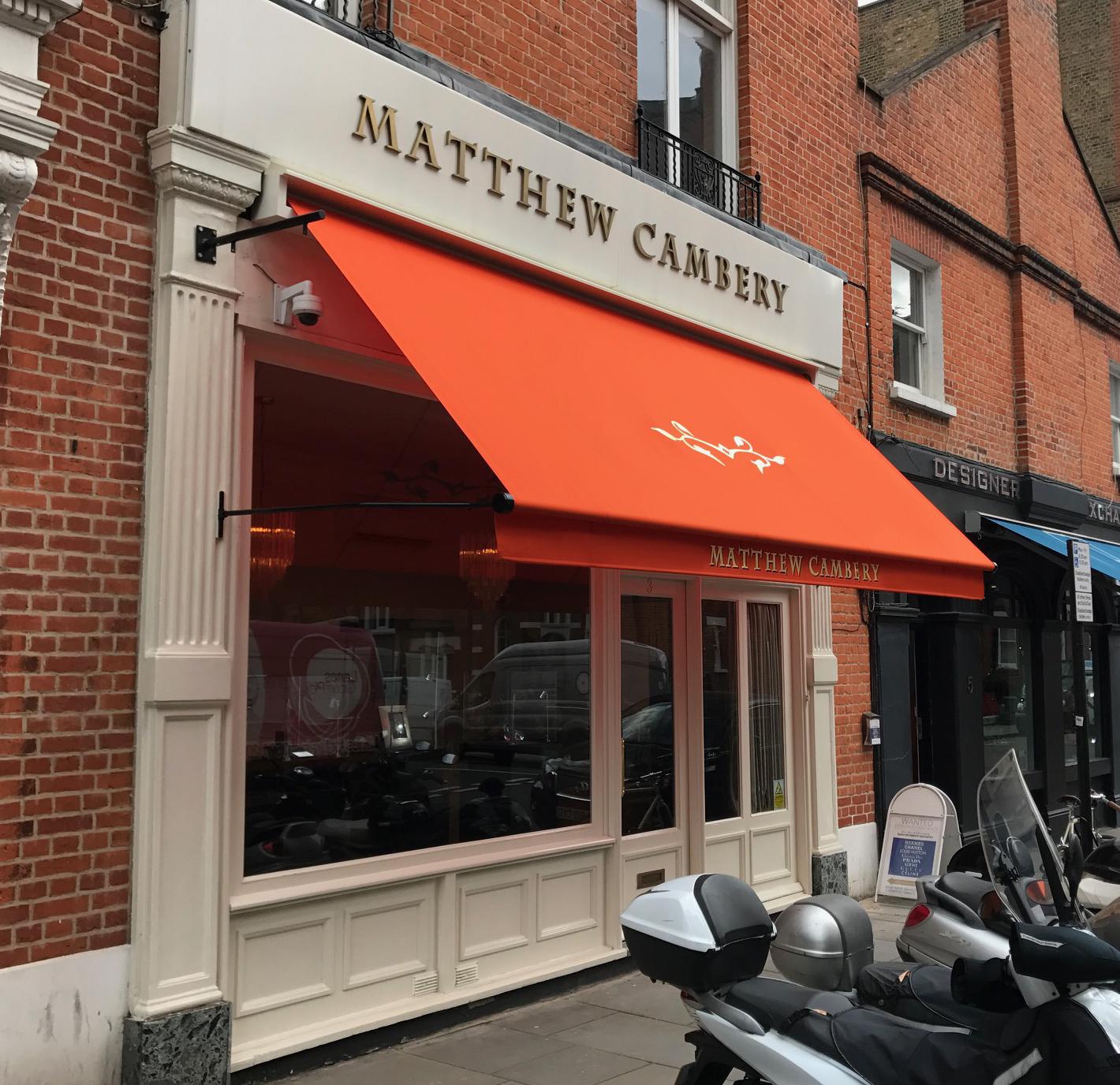 Matthew Cambery Greenwich awning