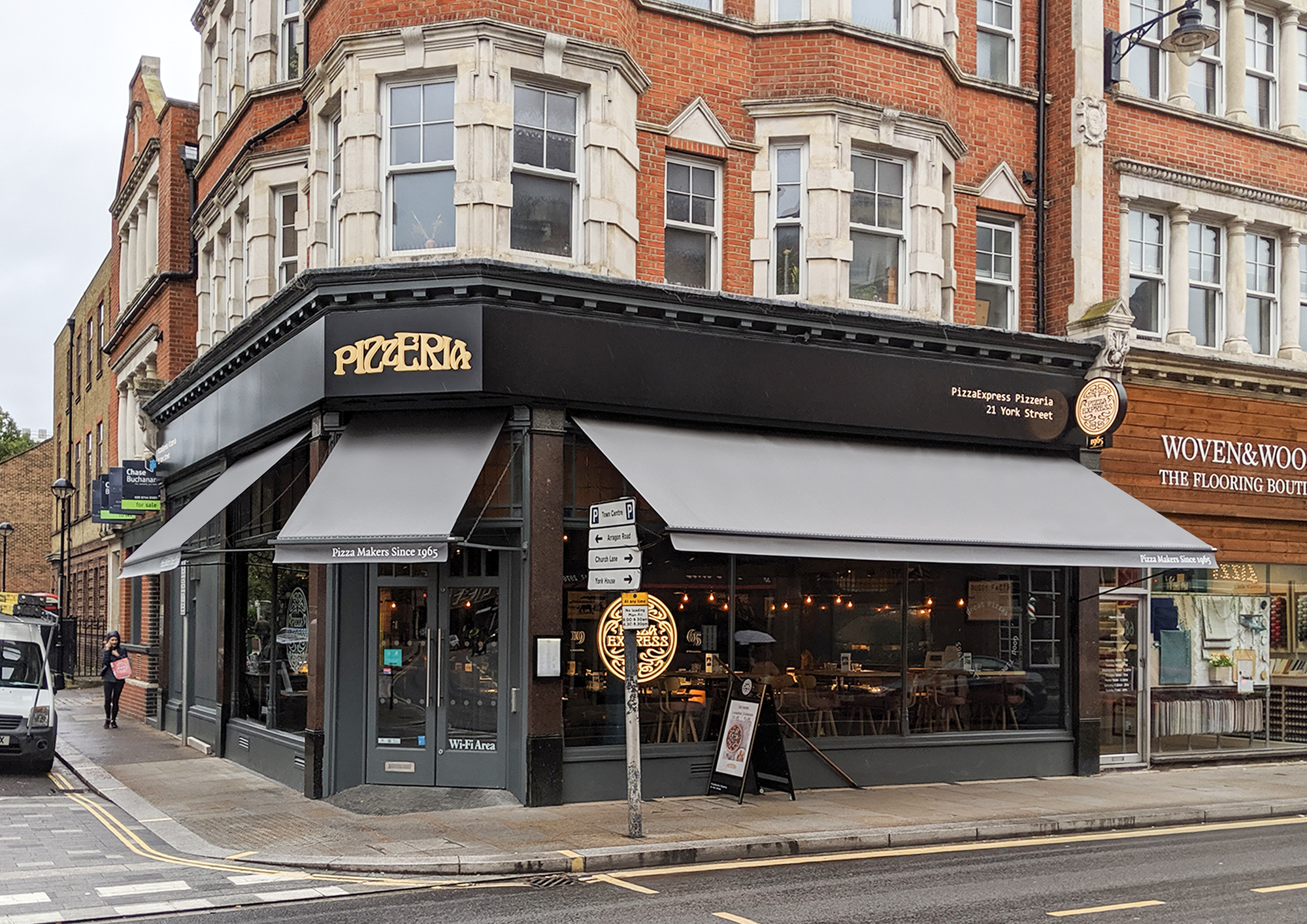 More Victorian Awnings For Pizza Express Morco Blinds