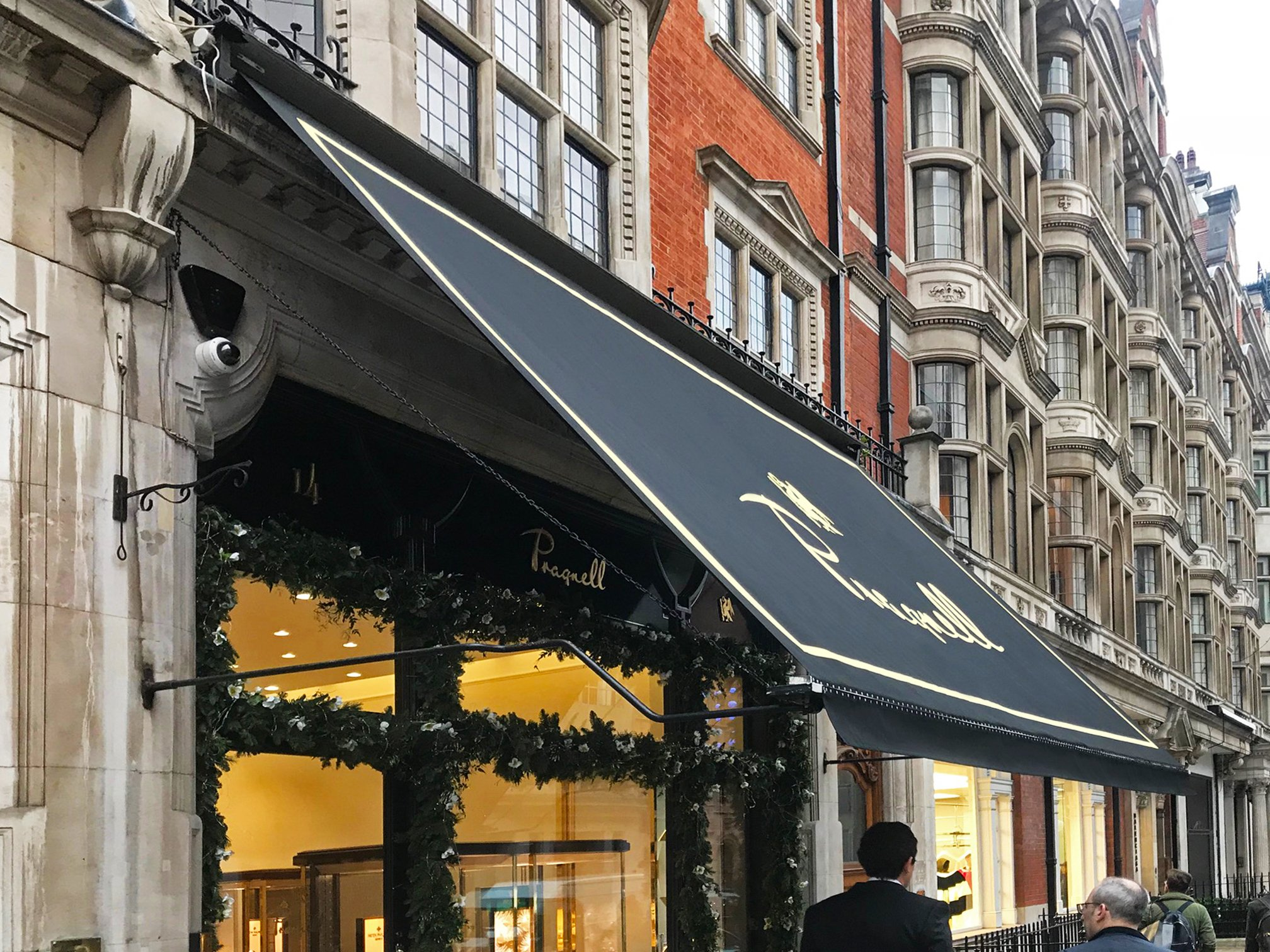 Pagnells Victorian awning
