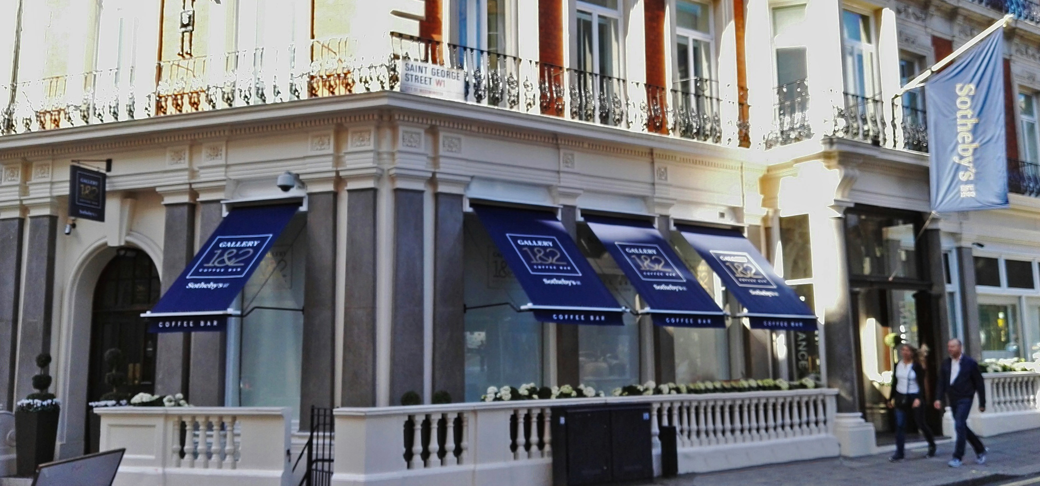 Sotheby's cafe awning 2