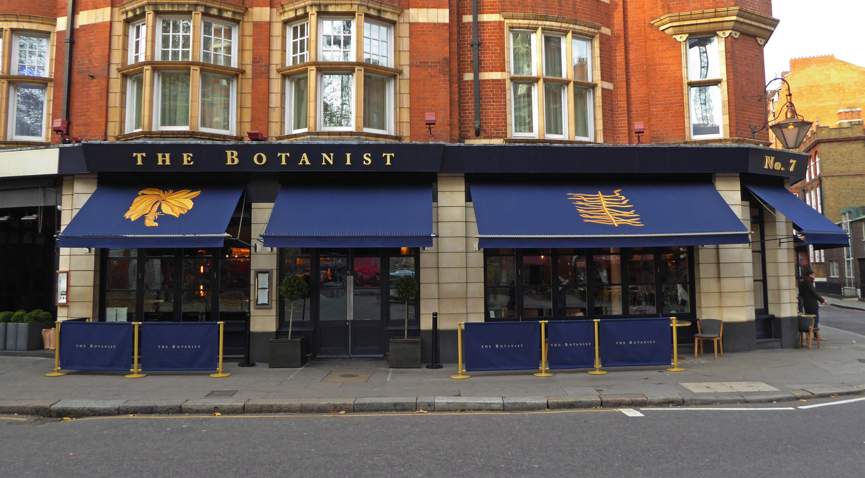 The Botanist awnings 2