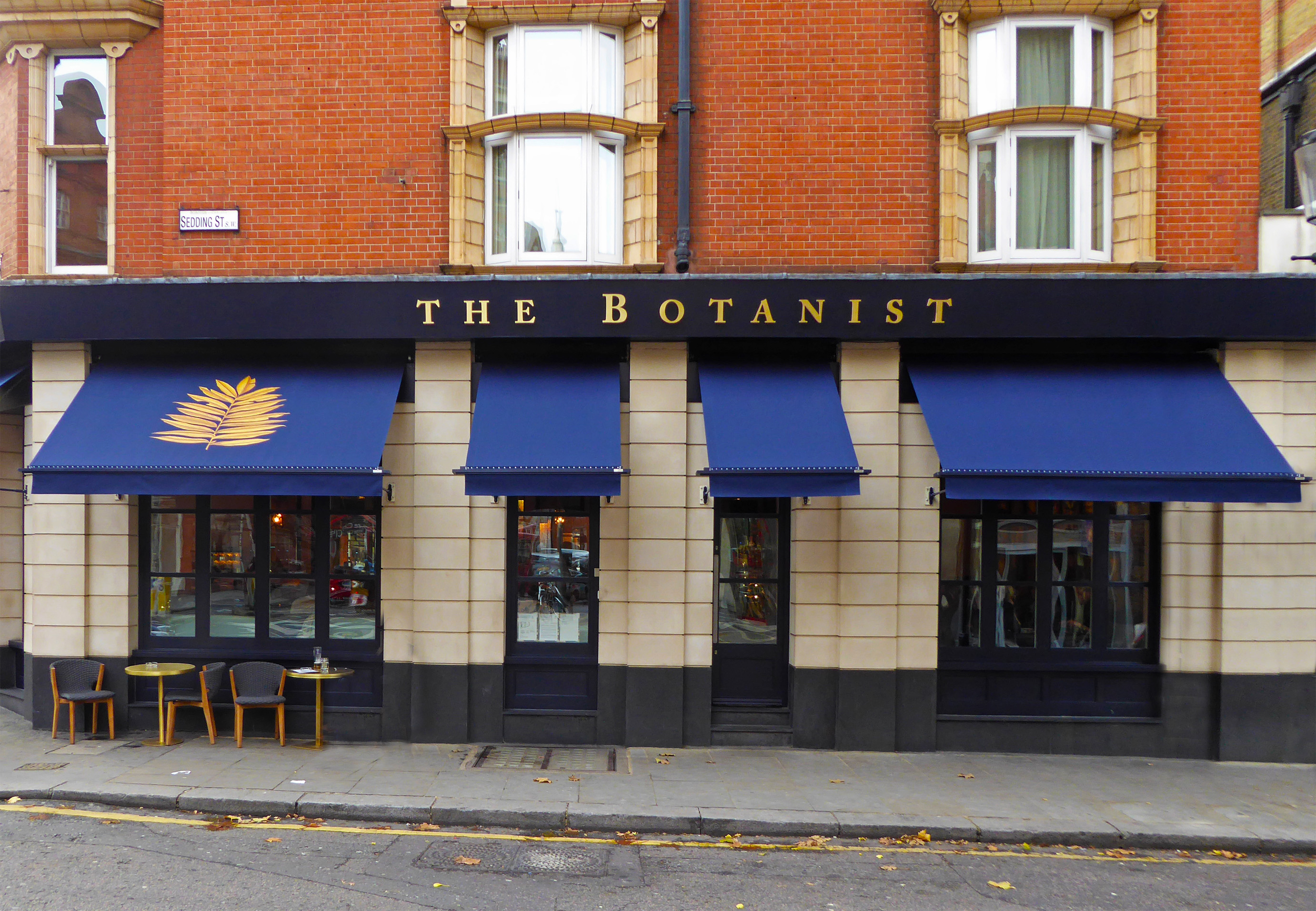 The Botanist awnings 3