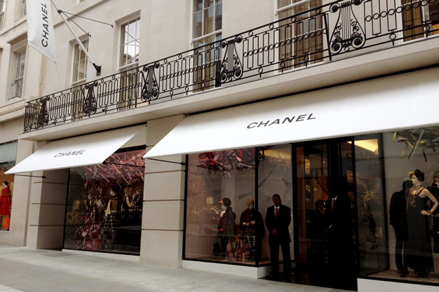 Chanel Morco Signature Victorian Awning