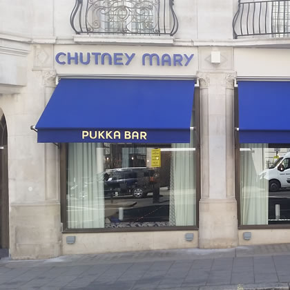 Greenwich Awning® for Chutney Mary