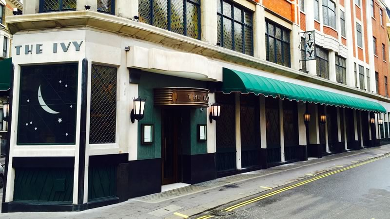 Restaurant awnings for The Ivy 1