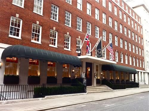 Commercial Restaurant Awnings for 34 Mayfair