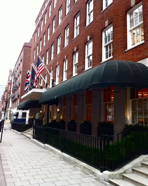Commercial Restaurant Awnings for 34 Mayfair