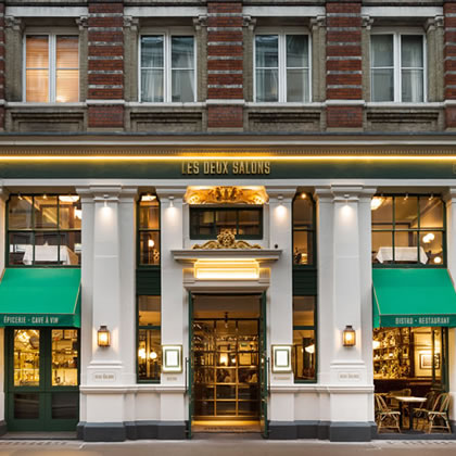 Rib Wedge® for Les Deux Salons