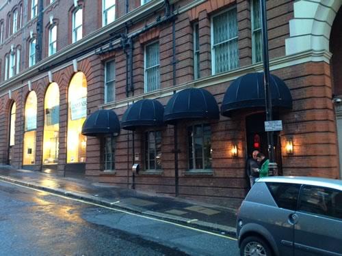 Bespoke Awnings Bespoke Bar Awnings For Mayfair Club Rififi Morco Blinds