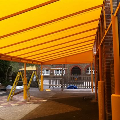 School canopy over playground - Parisian by Morco
