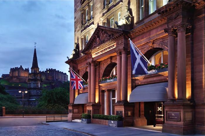 RIB® Dutch Canopy for The Waldorf Astoria - Caledonian Hotel in Edinburgh
