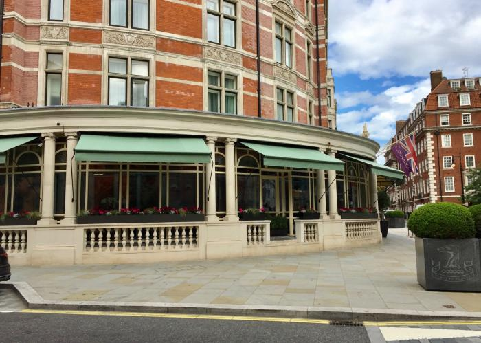 The Connaught Hotel Mayfair Morco Blinds