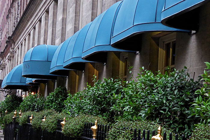 Multiple RIB® Bespoke restaurant canopies for Corrigans