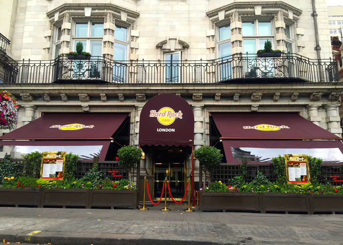 Victorian Awning® and Rib Entrance® for Hard Rock Cafe