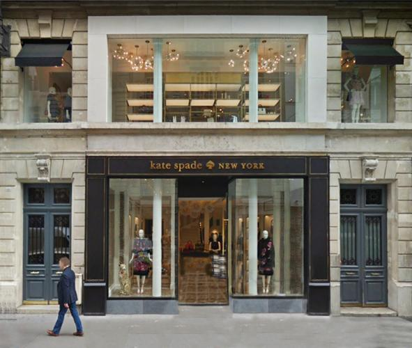 Marlesbury Awning® fa{ade for Kate Spade flagship store Paris