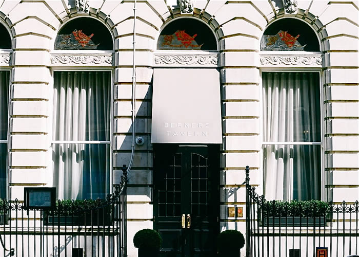 Bespoke Rib Panel® entrance awnings for The London Edition Hotel