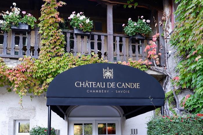 RIB® Bullnose Canopy at the Château de Candie