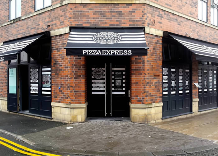 pizza express uk wide contract morco blinds