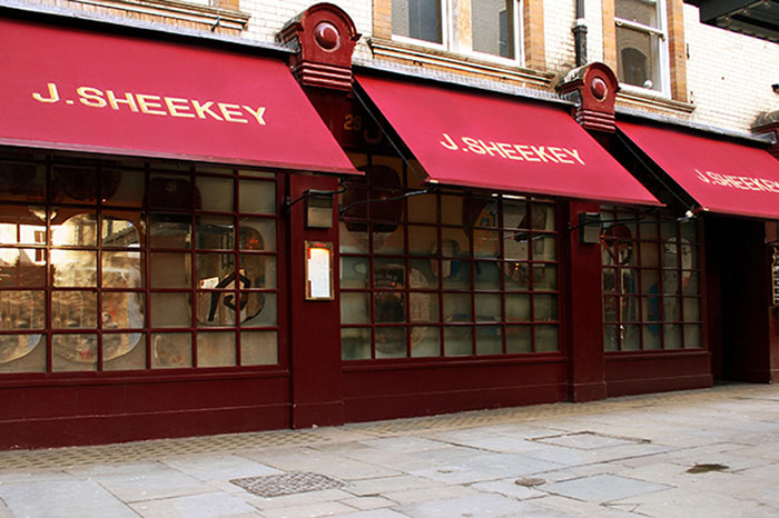 Signature Victorian Awning®  for Sheekey