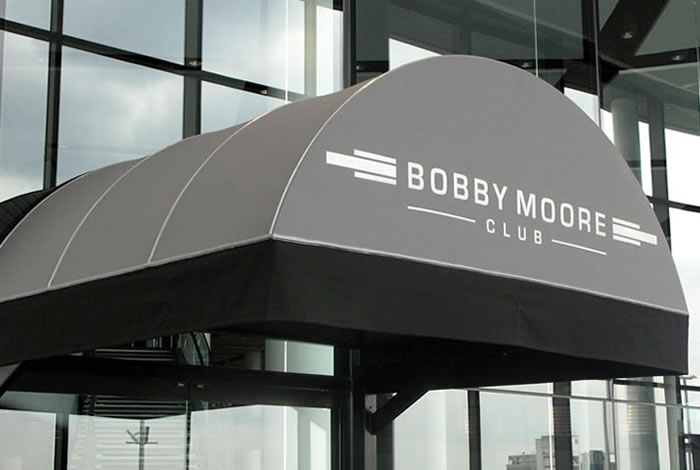 Wembley Stadium Rib Entrance ® for The Bobby Moore Club