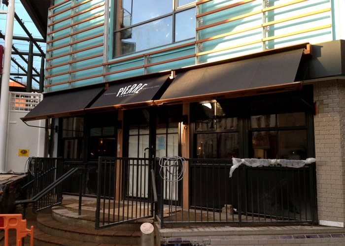 New chains like Le Bistro Pierre seek our expertise in design and branding