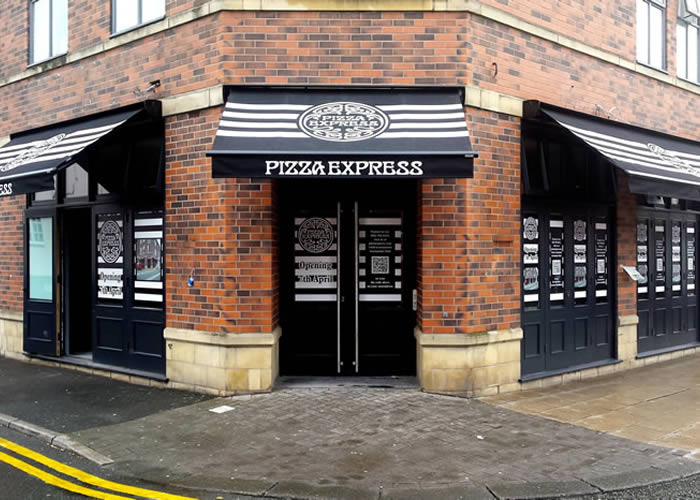 Pizza Express require brand consistency