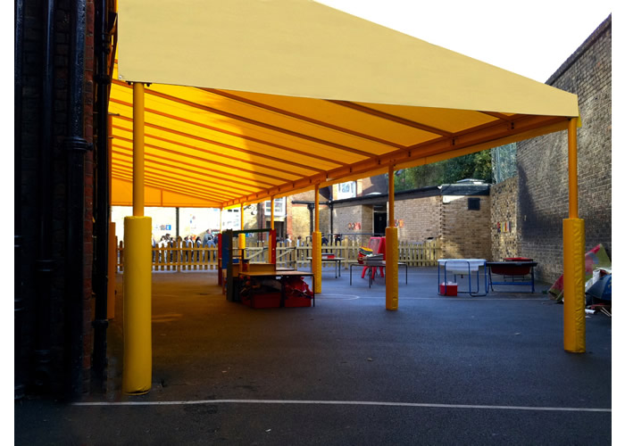 Signature Parisian with safety rubber posts for English Martyrs School
