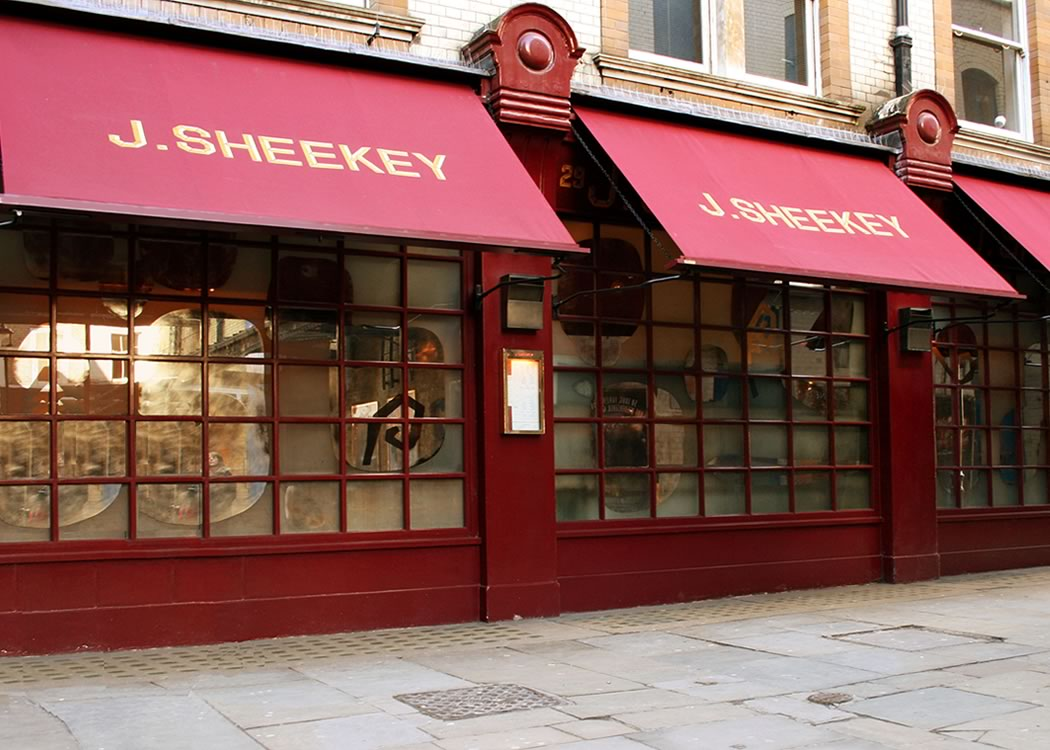 J Sheekey Awnings