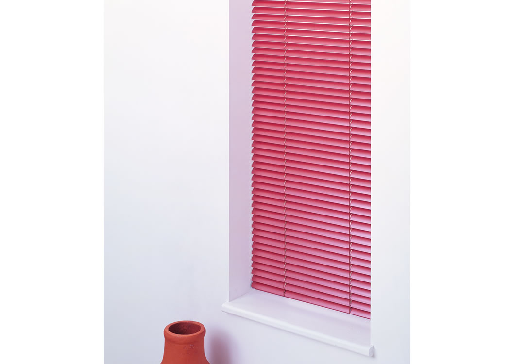 Office venetian blinds can be matched to a range of colours