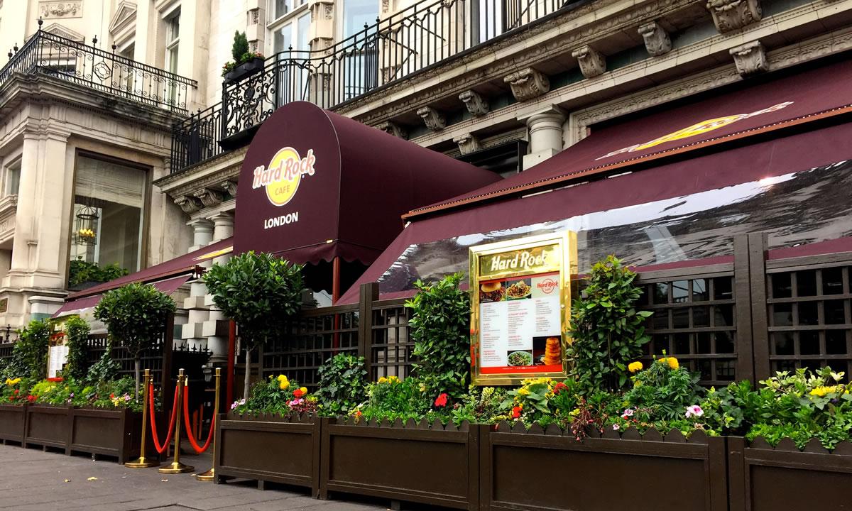 Restaurant Awnings | Morco Blinds