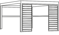 cascade awning line drawing