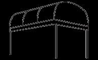 RIB Entrance Canopy line drawing