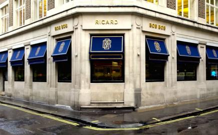 Morco design bepoke awnings for many of London's top restaurants