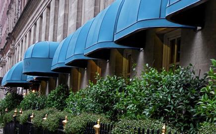 Multiple RIB® Bespoke restaurant canopies for Corrigans