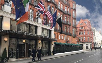 Bespoke RIB® Parasols for Claridge's Bar