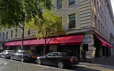 Greenwich® Awning for Novikov Restaurant and Bar - Mayfair