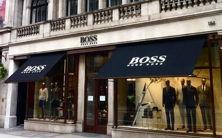 Victorian Awning® for Hugo Boss by Morco Blinds